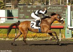 Byrama wins the Vanity H.