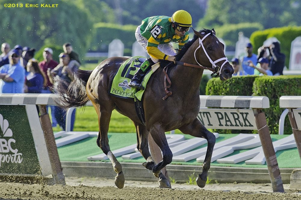 Palace Malice wins the 2013 Belmont Stakes