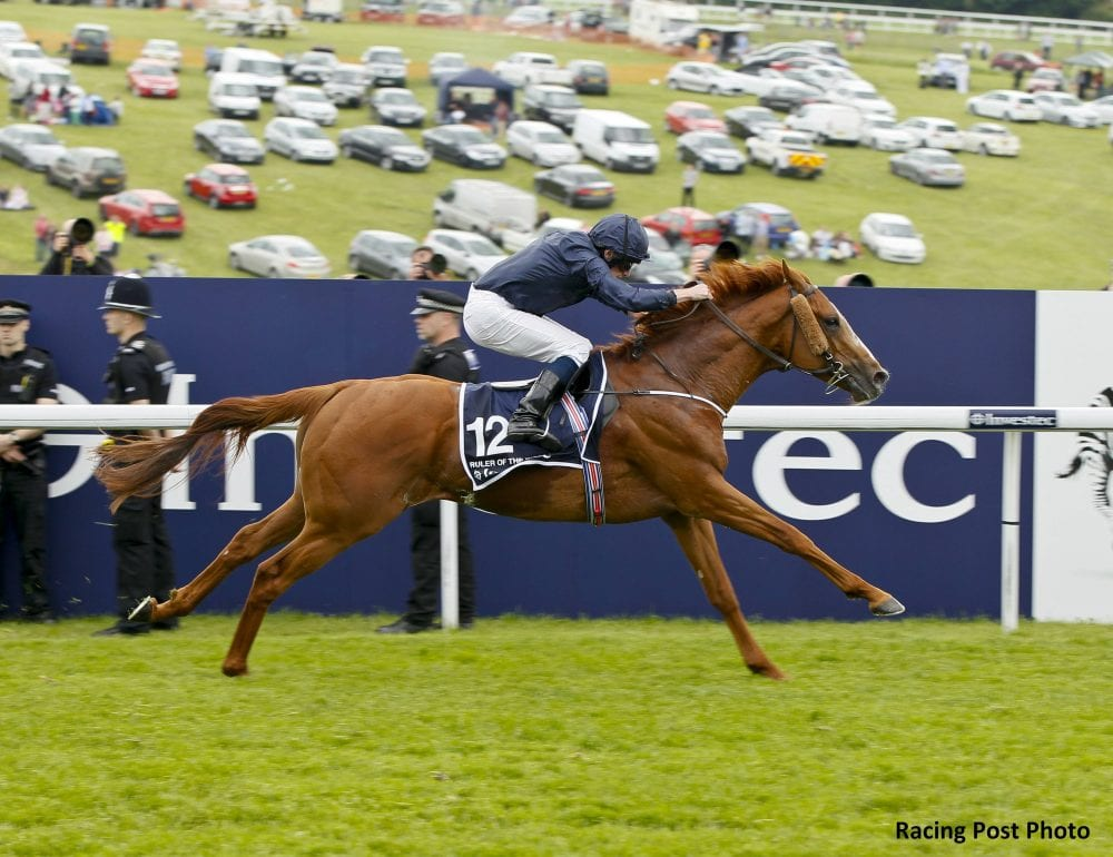 Ruler Of The World has been retired, and will enter stud at Coolmore in 2015