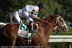Will Take Charge wins the Travers