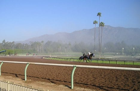 Santa Anita workouts California