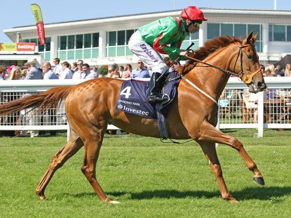 Dual Oaks Winner Dancing Rain To Be Sold In Foal To