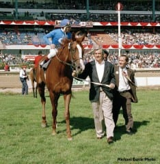 John Sikura Sr. was inducted into the Canadian Horse Racing Hall of Fame