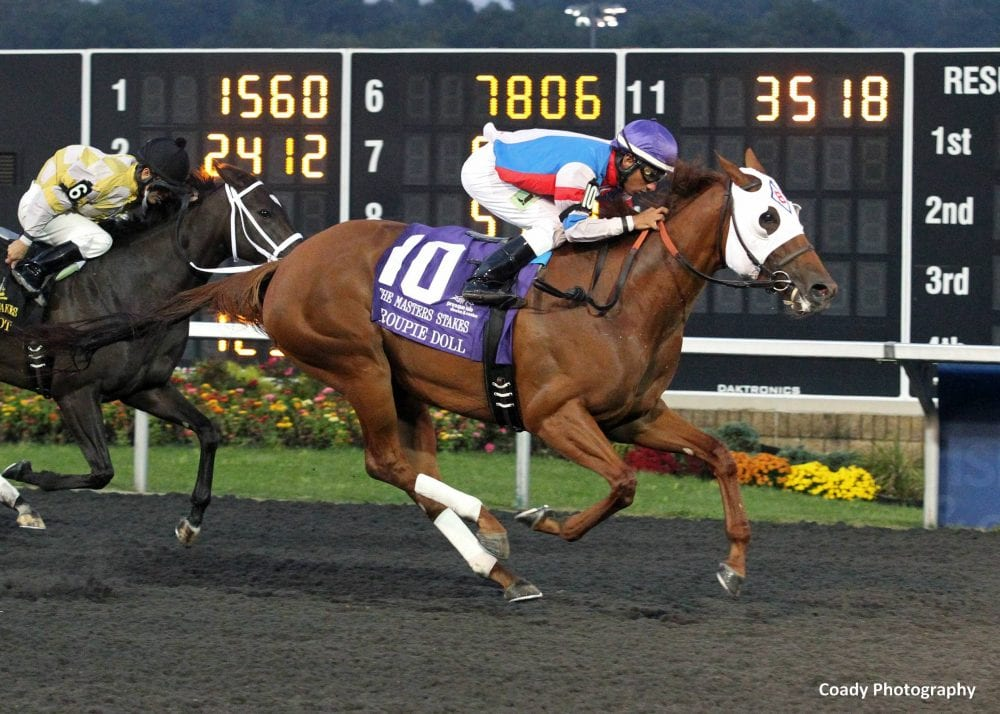 Breeders 39 cup news notes for tuesday oct 29 sprint for Show pool horse racing