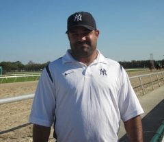 Trainer Jorge Navarro