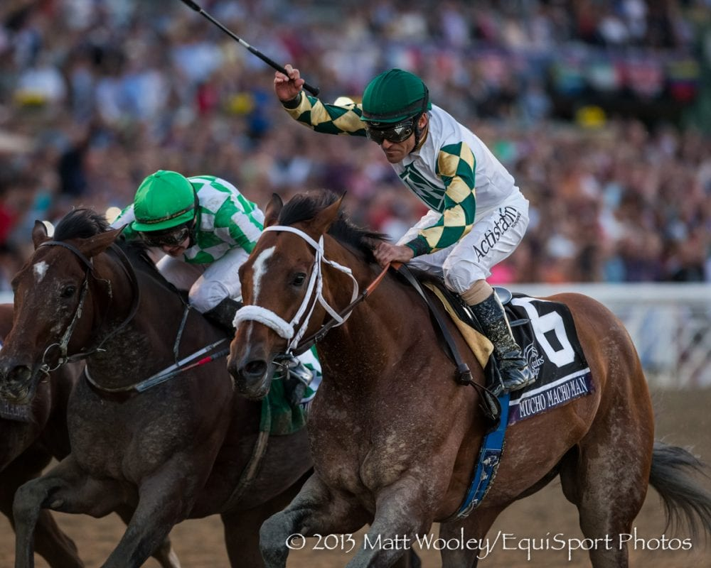 Mucho Macho Man wins the 2013 Breeders' Cup Classic