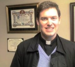 Father Chris Clay, inspiration for Good News Friday