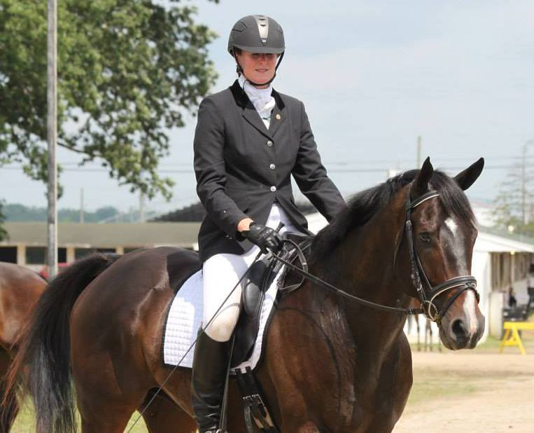 Jill and Dundee at the 2013 New Vocations Show; they have been named 2014 Program Ambassadors for New Vocations