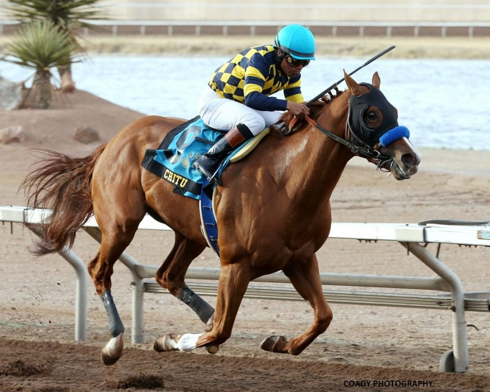 Chitu Holds Off Stablemate Midnight Hawk To Win Sunland