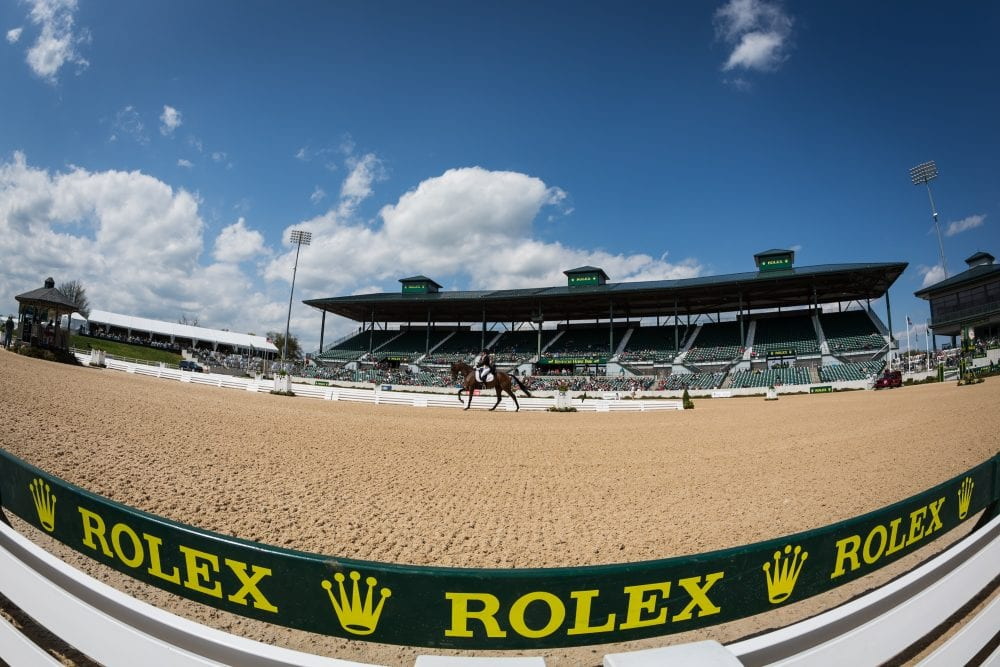 The Rolex arena at the Kentucky Horse Park (Wendy Wooley/Equisport Photos)