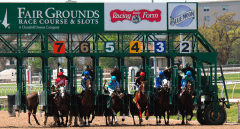 Fair Grounds starting gate