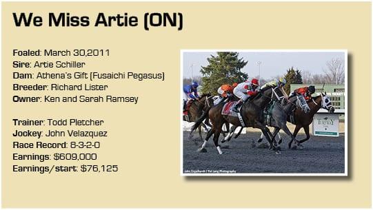 We Miss Artie graphic b