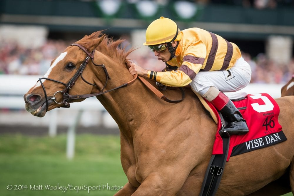 Wise Dan Favored In First Ever Horse Of The Year Future