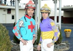 Jose (left) and Irad Ortiz Jr.