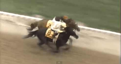 Charlie Whittingham worked Sunday Silence one mile in between this Preakness victory over Easy Goer and the Belmont Stakes