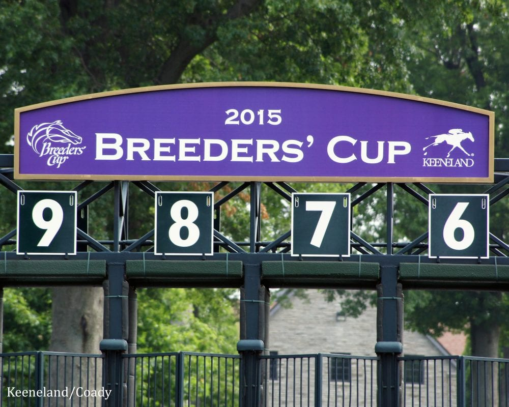 Breeders Cup Announces 1 Pick Six Wagers For 2015 Menu
