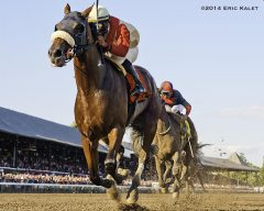 Wicked Strong, seen winning the Jim Dandy.