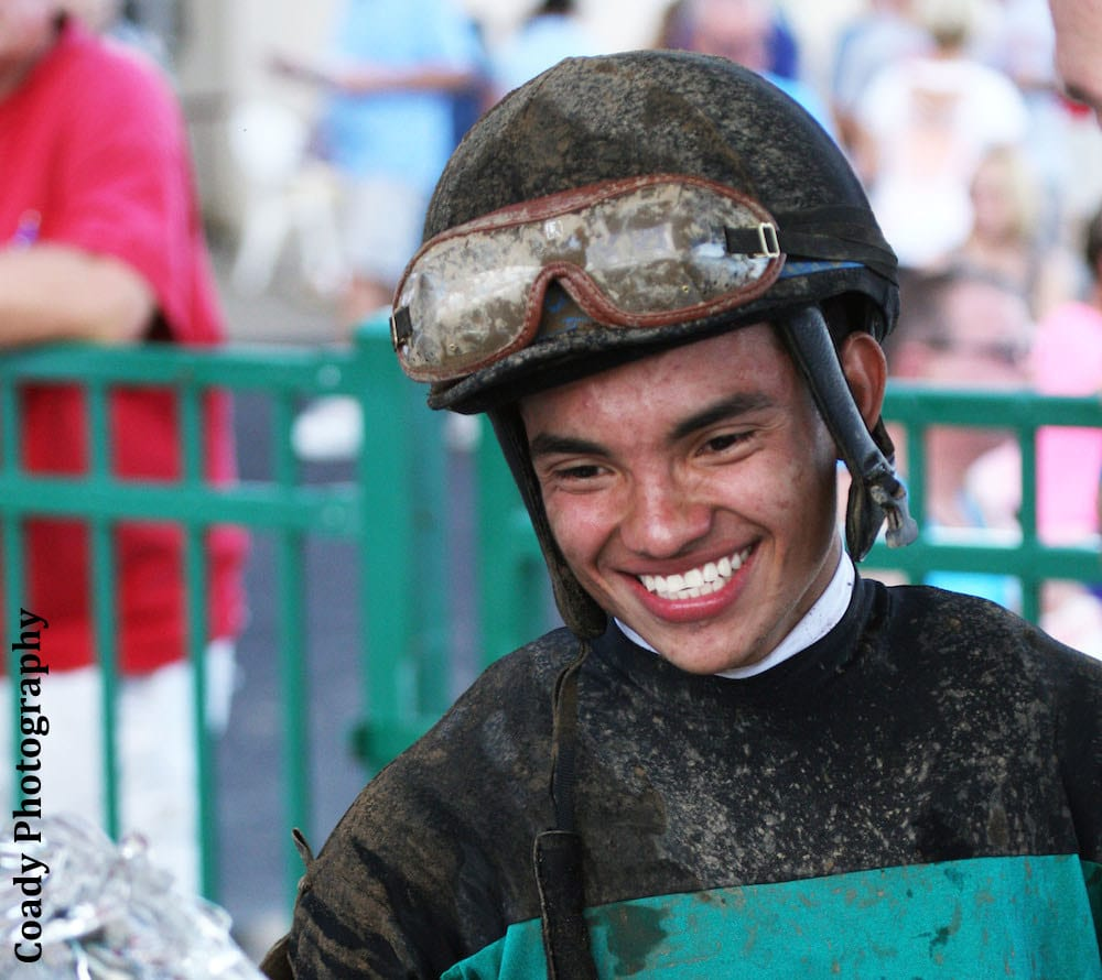 Juan Saez, a 17-year-old native of Panama, died from injuries suffered in a racing accident at Indiana Grand earlier this month.
