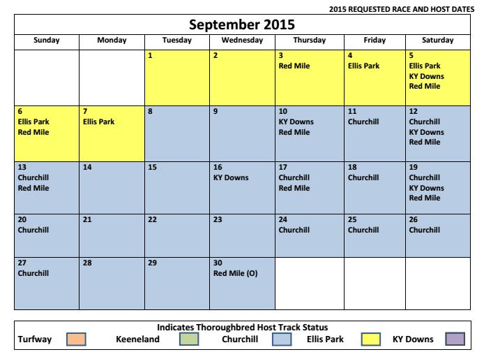 Churchill Kentucky Downs Make A Deal On Sept 2015 Dates