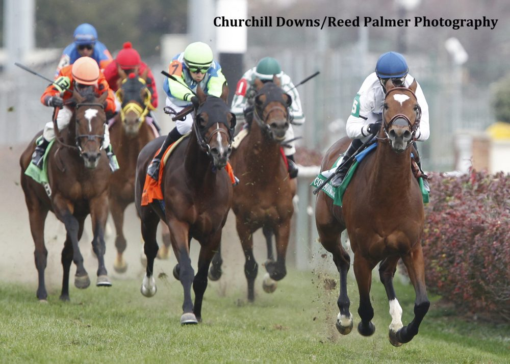 Heart To Heart Goes Wire To Wire In Commonwealth Horse