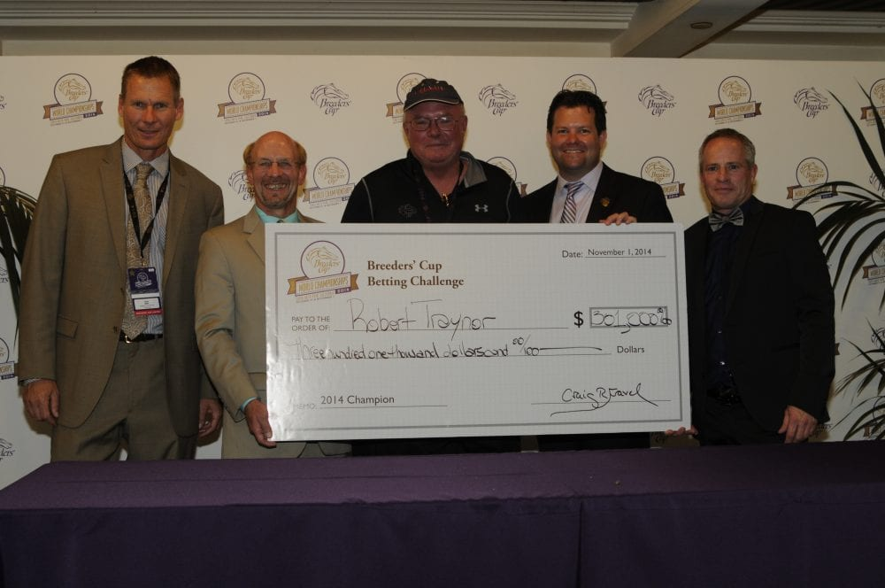 Robert Traynor Wins 301 000 In Breeders Cup Betting