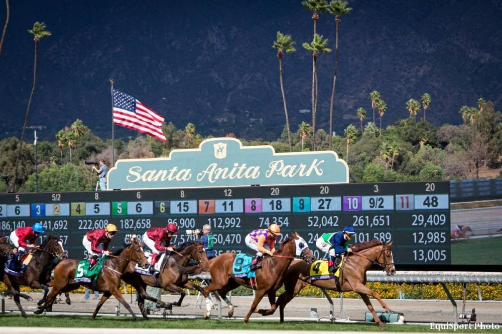 Santa Anita Park An Opening Day Like No Other Horse