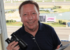 Loiselle's unmistakeable voice and passion for the sport helped create his lasting legacy (Woodbine Entertainment Group)