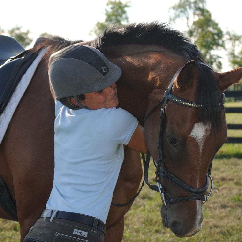 Rebel is a once in a lifetime horse, according to Rachel