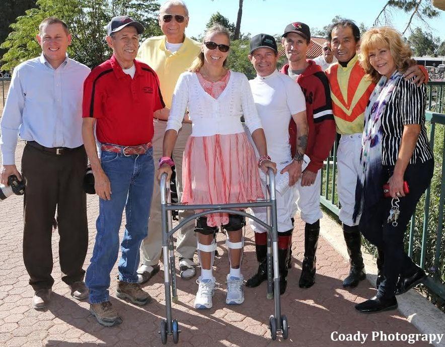 Paraplegic Former Jockey Anne Von Rosen I Will Walk