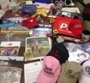 Gifts came pouring in from racing and equine organizations across the country