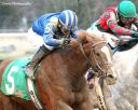 Mufajaah powers to victory in the Bayakoa Stakes
