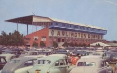 Arlington Downs held pari-mutuel horse racing in Texas until it was banned in 1937