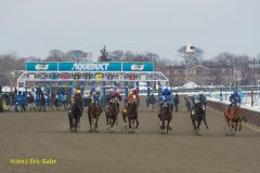 2015 Racing at Aqueduct Snow