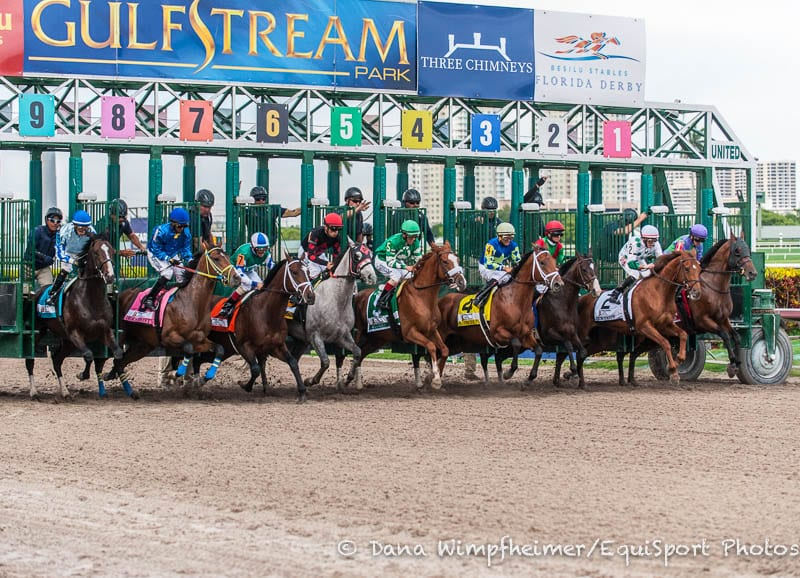 Gulfstream park roulette wager