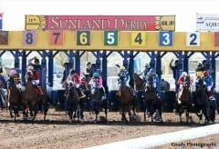 Racing at Sunland Park