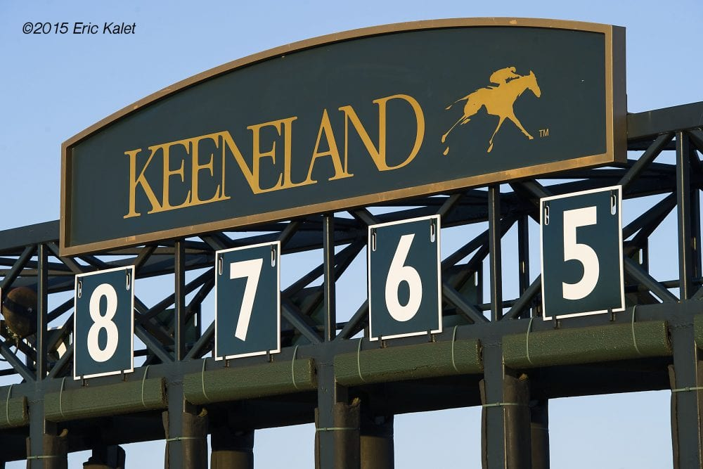Several Keeneland Trainers Prepare To Move Ahead Of