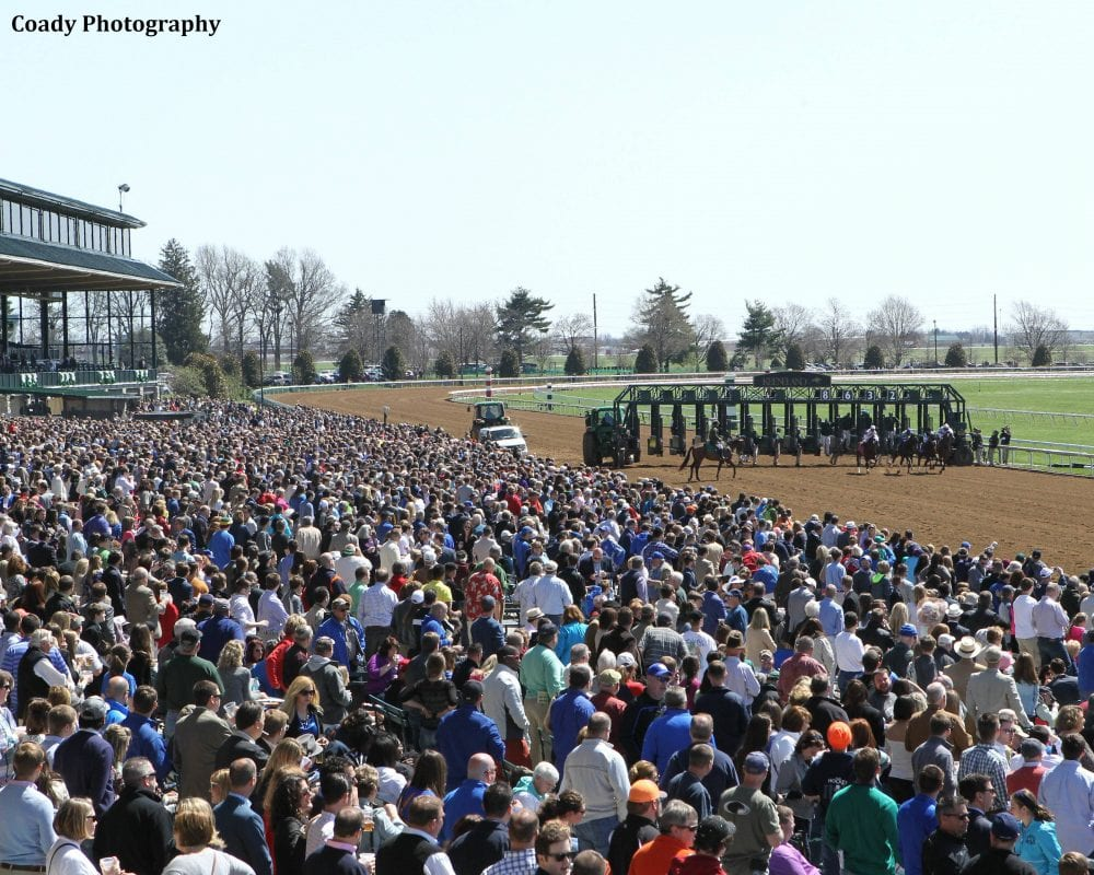 Attendance High At Keeneland Oaklawn Saturday Cards