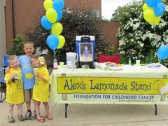"""Alex's Lemonade Stand, part of Afleet Alex's legacy, remains """"near and dear"""" to Zacney"""