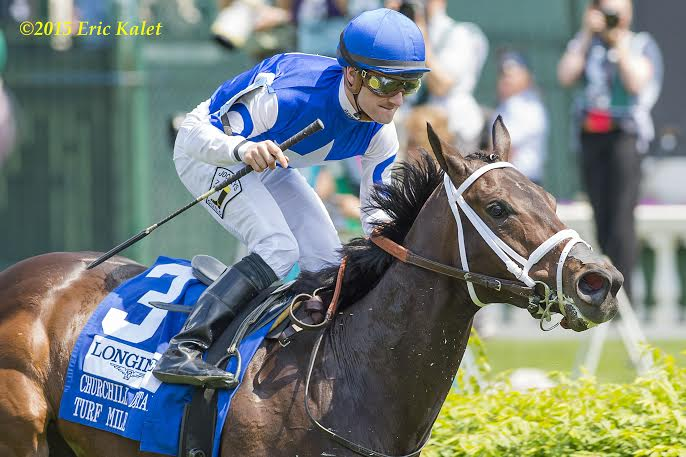 Tepin Goes Wire To Wire To Take Churchill Distaff Turf Mile - Horse ...