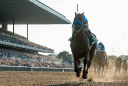 American Pharoah storms home in the Belmont Stakes