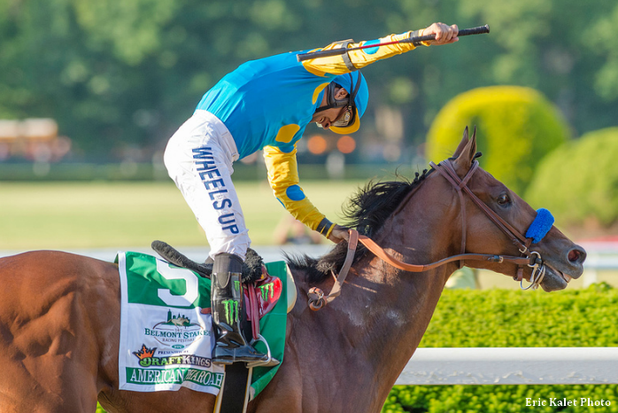 American Pharoah Drills Five Furlongs At Santa Anita