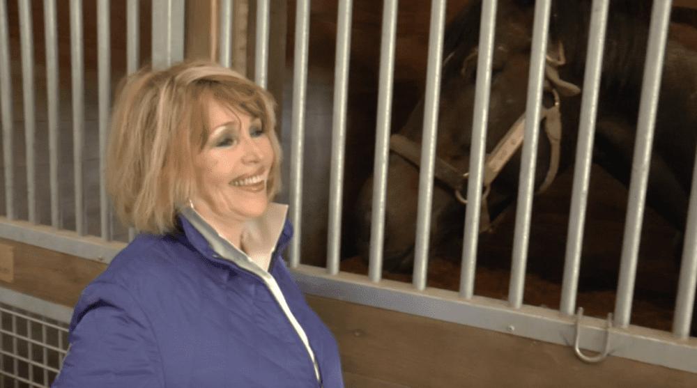 Suzie O'Cain, a 30-year veteran of New York's breeding industry, has a lot to smile about with her new venture at Saratoga Stud