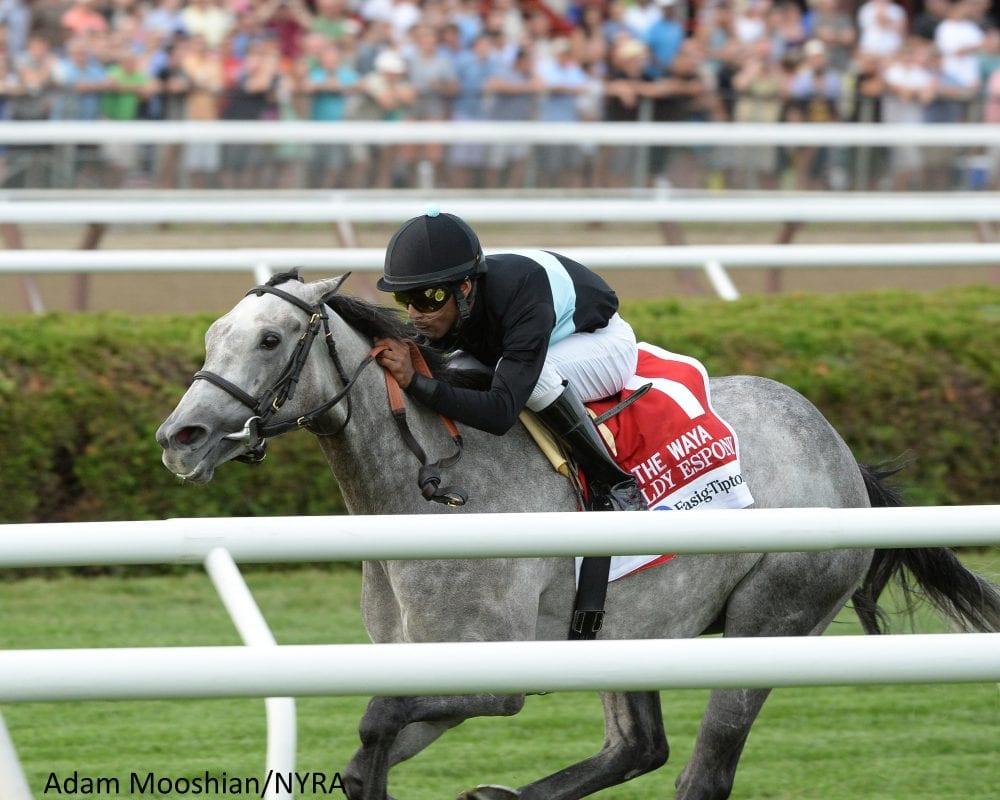 Goldy Espony Runs Away With Waya Stakes Horse Racing