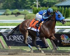 Private Zone will miss the Belmont Stakes Festival due to an unusual ruling regarding his trainer