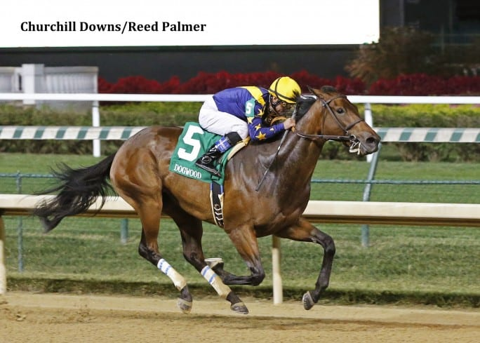 Super Majesty Gives Owners First Graded Win With Dogwood