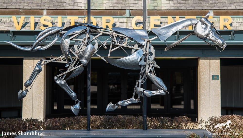 Kentucky Horse Park Unveils Epic Mechanical Horse Statue
