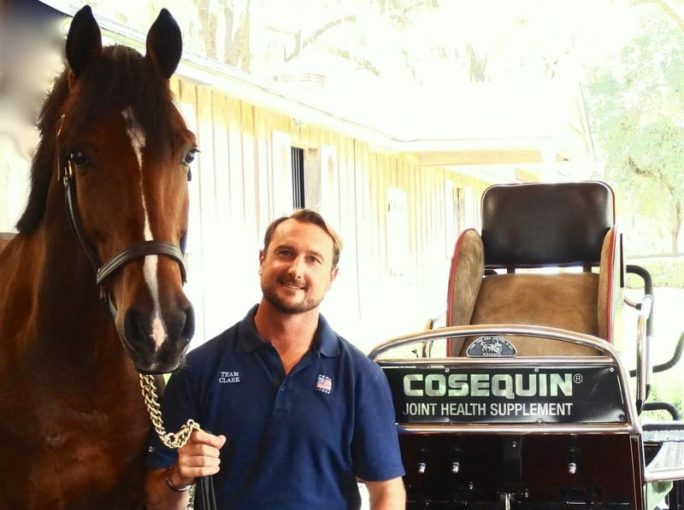Chester Weber is one of several Cosequin-sponsored trainers and competitors