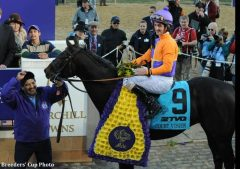 Court Vision produced the second highest win payout in Breeders' Cup history