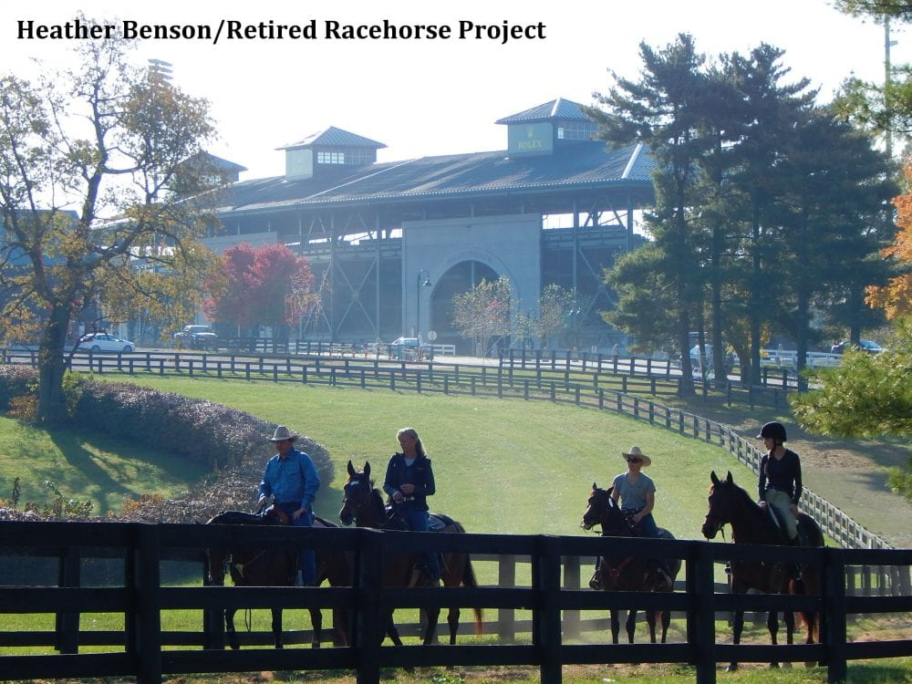 Thoroughbred Makeover Returns To Kentucky Horse Park In