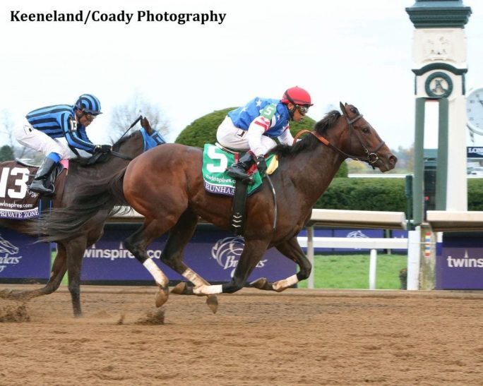Runhappy S Breeders 5 000 Claimer Foals Breeders Cup